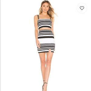 NWT Lovers & Friends 2 piece skirt and top set
